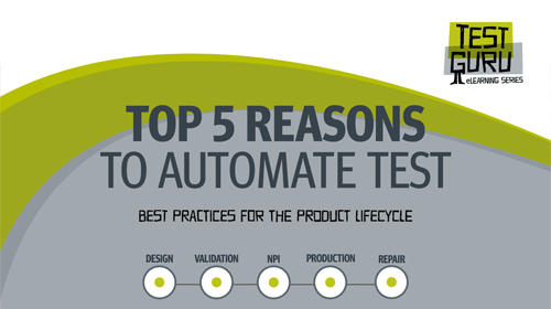 e-book cover Top 5 reasons to automate test